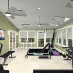 Exercise Room CAD (4)-Design Build Planners