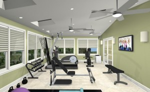 Exercise Room CAD (6)-Design Build Pros