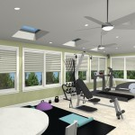 Exercise Room CAD (8)-Design Build Planners