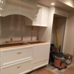 In Progress Picture of a Kitchen Remodel in Watchung NJ 2014-11-26 (1)-Design Build Planners