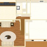Plan 1 CAD for New Jersey Remodel Dollhouse Overview-Design Build Planners