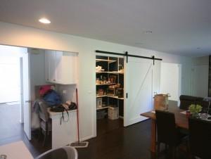 Barn Style Sliding Passage Door (1)-Design Build Planners