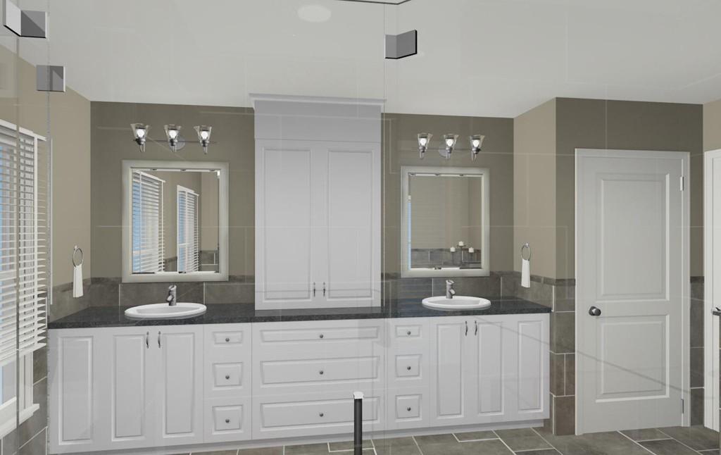 Bathroom shower makeover in wall nj 07719 design build pros for Bathroom design nj