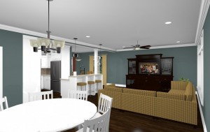 Computer Aided Design for Home Addition in East Bruswick NJ (5)-Design Build Planners