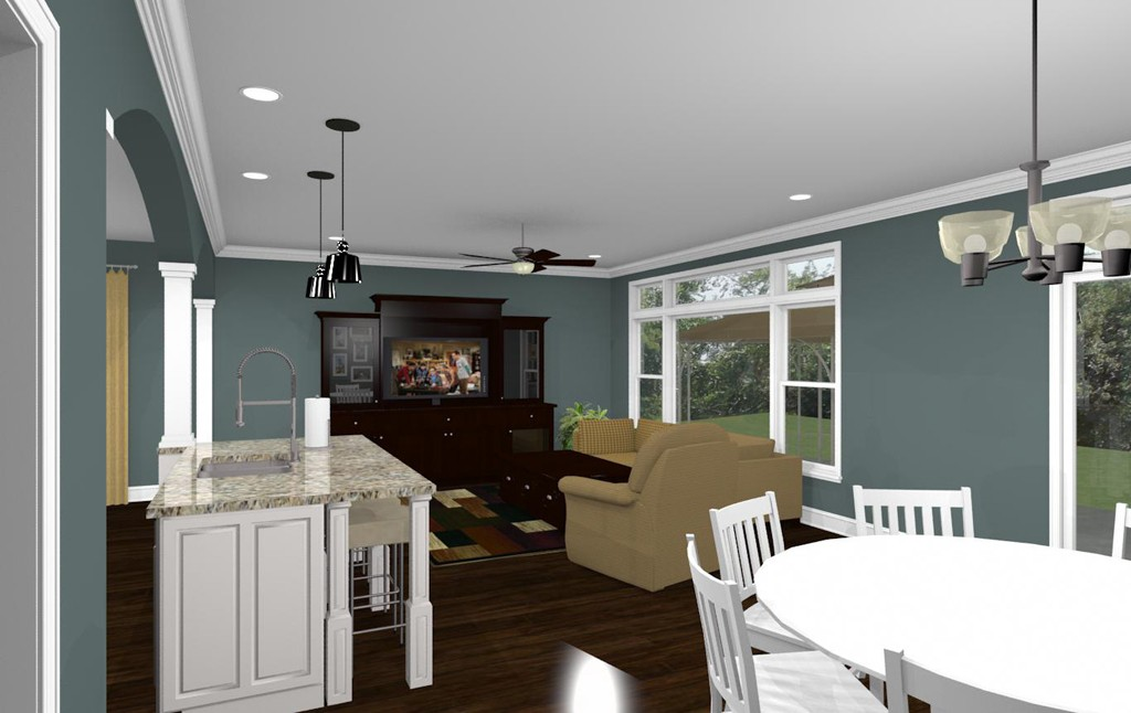 Computer Aided Design Of A East Brunswick New Jersey Remodel 23
