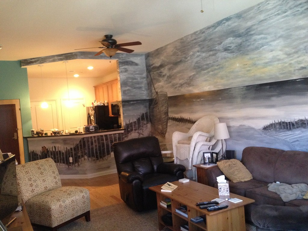 Custom painting and wall art in new jersey for Custom mural painting