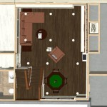 Dollhouse Overview of Watchung New Jersey Remodel (3)-Design Build Planners