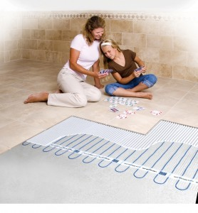 Heated Floor Options by the Design Build Pros