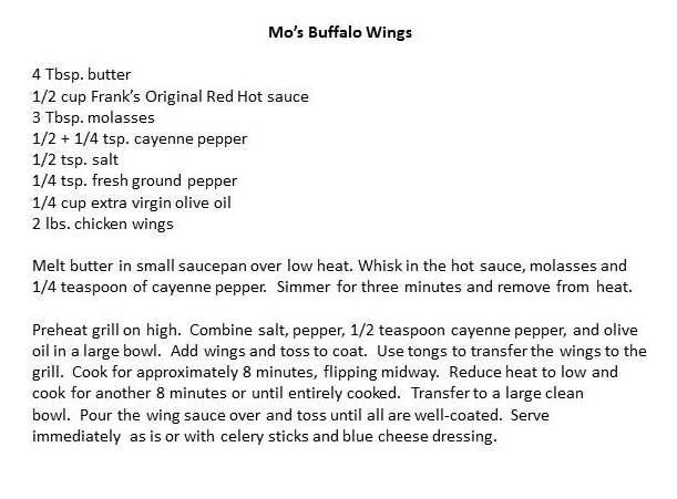 Mos Buffalo Wings