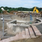 Outdoor Living Space in Burlington County NJ In Progress (2)-Design Build Planners