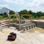 Outdoor Living Space in Burlington County NJ In Progress (5)-Design Build Planners