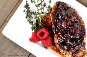 Raspberry Balsamic Chicken Recipe-Design Build Planners