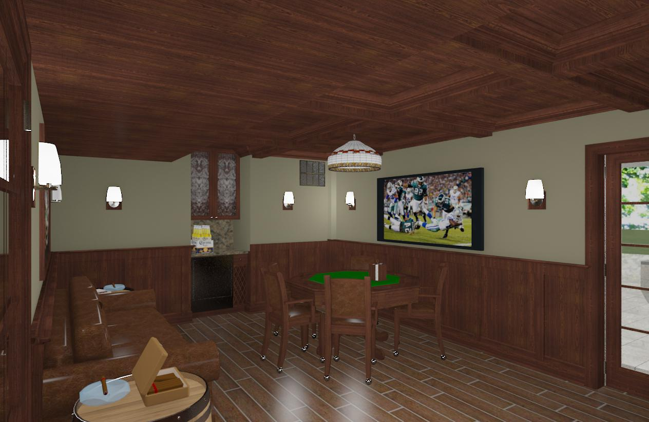 Cigar Room Design in Monmouth County NJ Design Build Planners