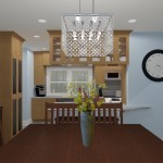 CAD of a Small Kitchen Remodel in Bergen County New Jersey (1)-Plan 1-Design Build Planners