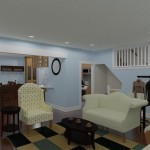 CAD of a Small Kitchen Remodel in Bergen County New Jersey (2)-Plan 1-Design Build Planners