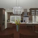 CAD of a Small Kitchen Remodel in Bergen County New Jersey (2)-Plan 3-Design Build Planners