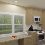CAD of a Small Kitchen Remodel in Bergen County New Jersey (3)-Plan 2-Design Build Planners