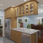 CAD of a Small Kitchen Remodel in Bergen County New Jersey (4)-Plan 1-Design Build Planners