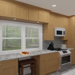CAD of a Small Kitchen Remodel in Bergen County New Jersey (5)-Plan 1-Design Build Planners