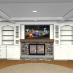 Conceptual Overview Plan of a Bridgewater New Jersey Fireplace Area (1)-Design Build Planners
