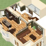 Dollhouse Overview of Kitchen Remodeling Project in New Brunswick New Jersey (2)-Design Build Planners