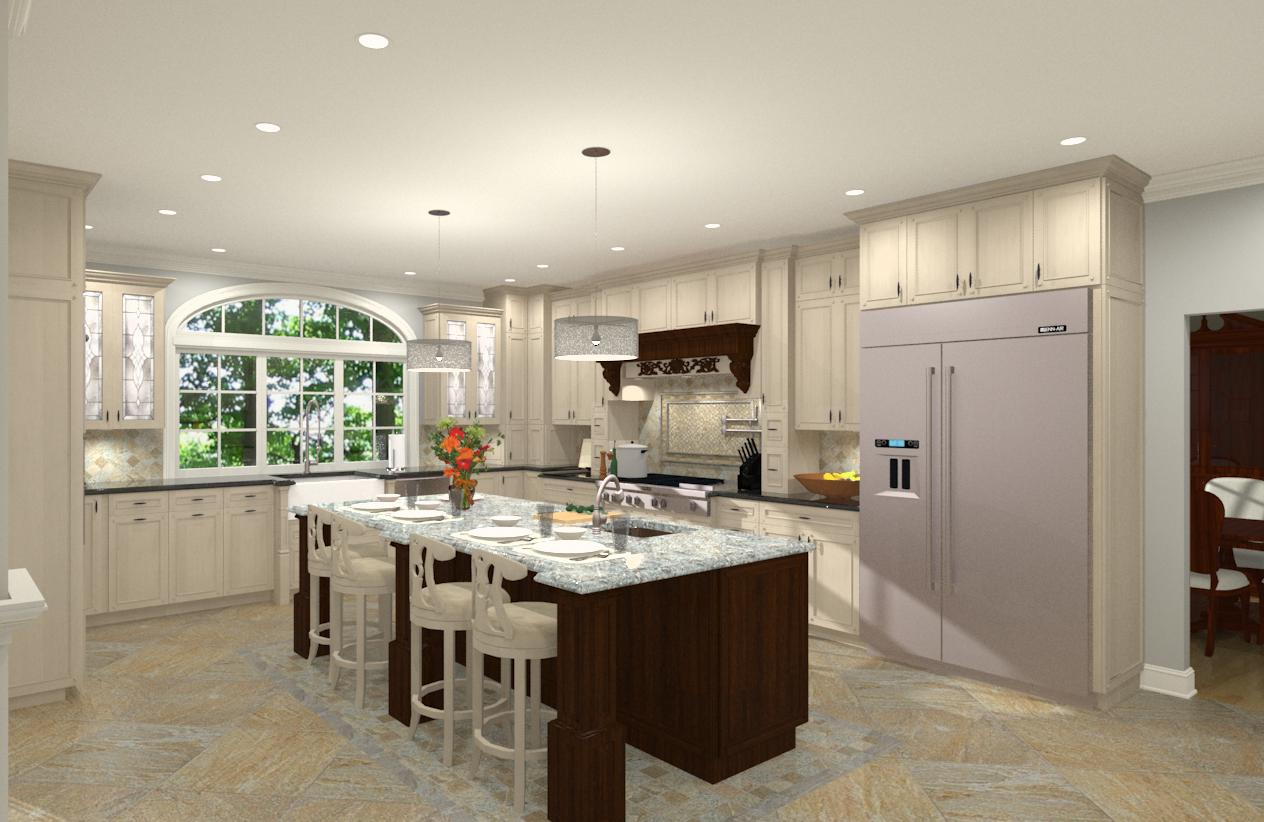 gourmet kitchen addition design in monmouth new jersey 1 design build planners - Kitchen Gourment
