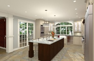 Gourmet Kitchen Addition Design in Monmouth New Jersey (2)-Design Build Planners