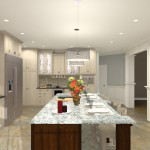 Gourmet Kitchen Addition Design in Monmouth New Jersey (5)-Design Build Planners