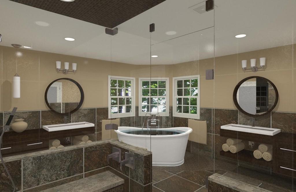Luxury master bathroom design in matawan nj design for Bathroom designs nj