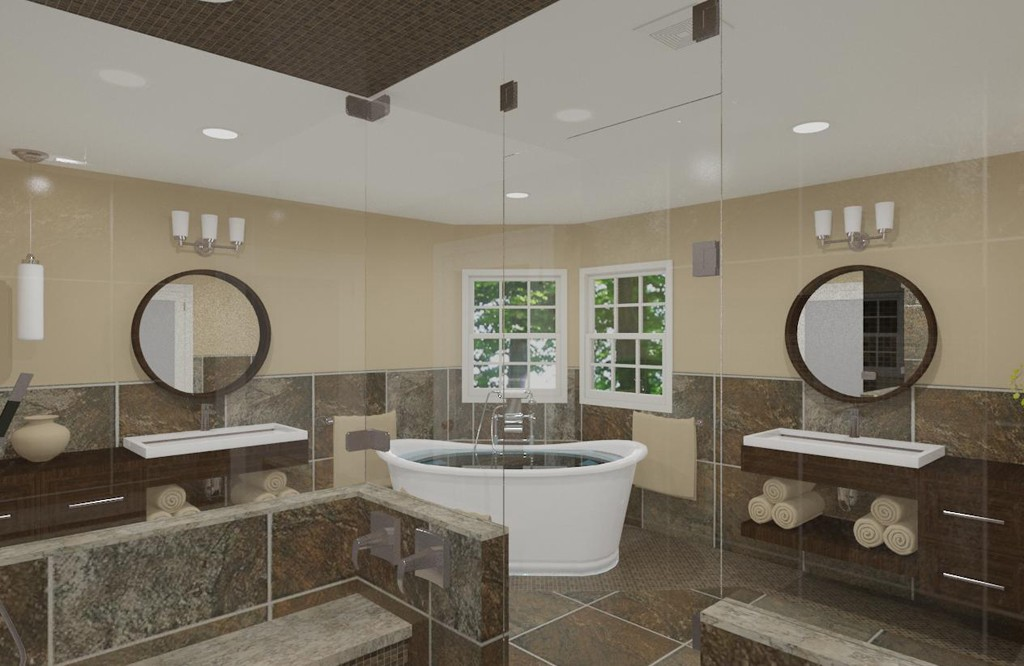 luxury bathroom design in mattawan new jersey 2 design build pros - Luxury Master Bathroom