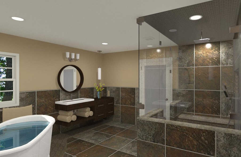 Luxury Master Bathroom Design In Matawan NJ Design Build Planners Classy Bathroom Design Nj