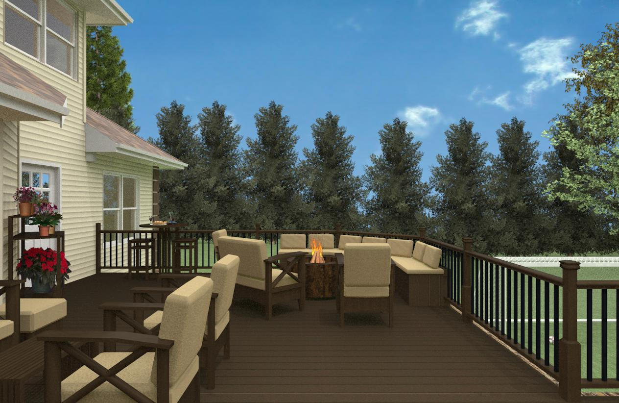 Outdoor Living Space Design In Monmouth County - Design Build Pros