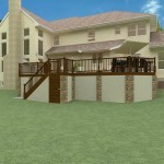 Plan 2 of an Outdoor Living Space in Monmouth County New Jersey (2)-Design Build Planners