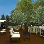 Plan 2 of an Outdoor Living Space in Monmouth County New Jersey (5)-Design Build Planners