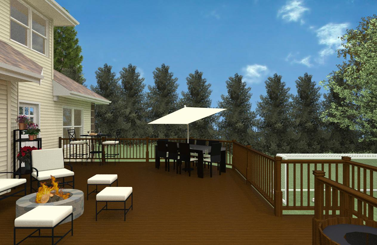 Outdoor Living Space Design In Monmouth County - Design Build Planners