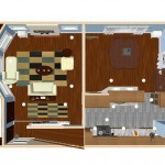 Plan One Dollhouse Overview of a Small Kitchen Remodel in Bergen County NJ (1)-Design Build Planners