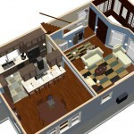 Plan Three Dollhouse Overview of a Small Kitchen Remodel in Bergen County NJ (1)-Design Build Planners