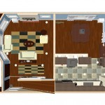 Plan Three Dollhouse Overview of a Small Kitchen Remodel in Bergen County NJ (2)-Design Build Planners