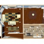 Plan Two Dollhouse Overview of a Small Kitchen Remodel in Bergen County NJ (2)-Design Build Planners