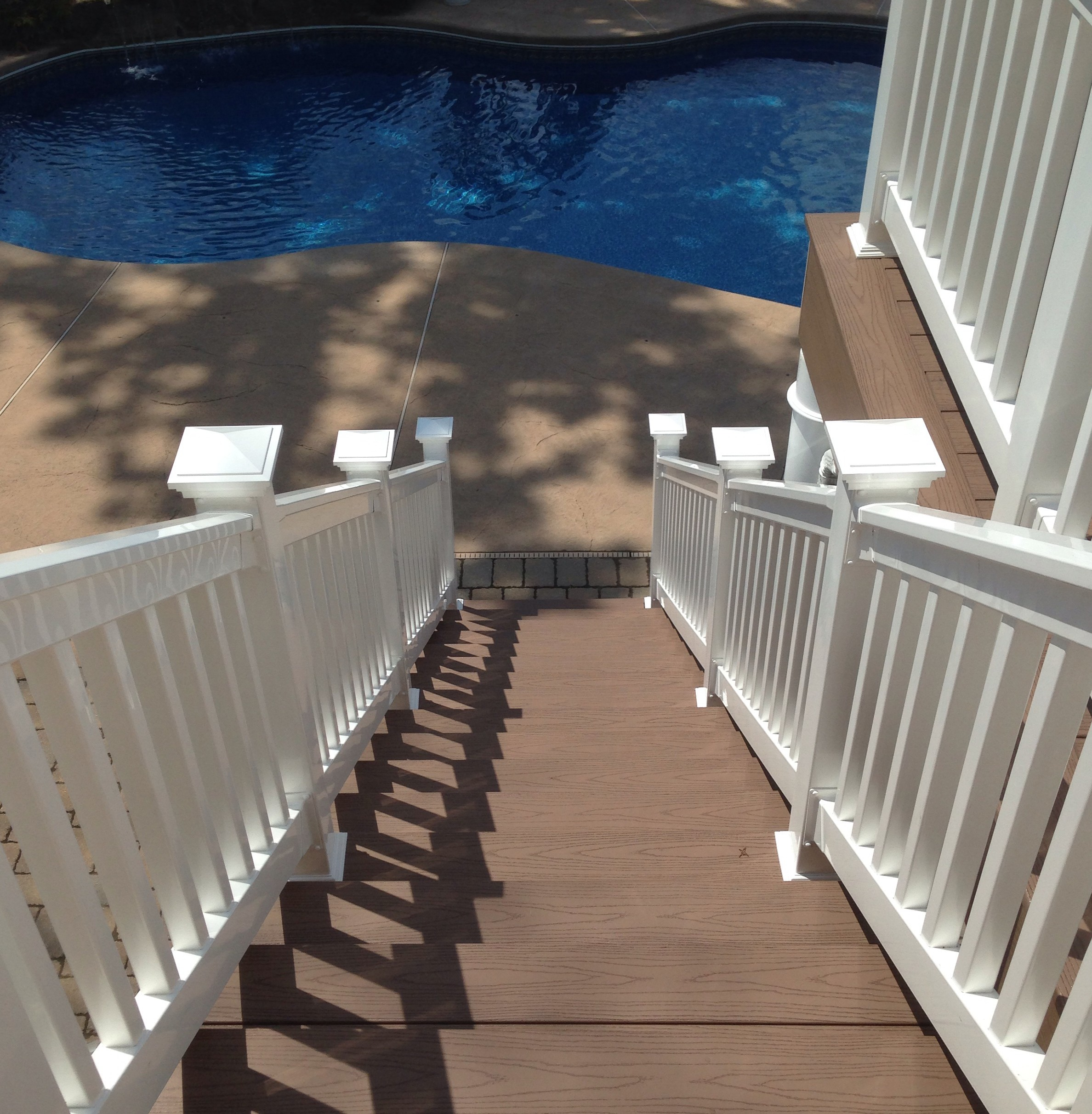 Raised Deck Terrace In Monmouth County New Jersey