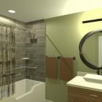 CAD of a Bathroom Remodel in West Orange New Jersey (3)-Desgin Build Pros
