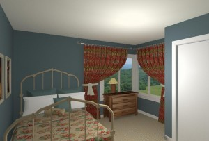 CAD of a Bedroom Remodel in West Orange New Jersey (1)-Desgin Build Pros