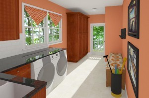 CAD of a Kitchen and Mudroom Addition in NJ (8)-Design Build Planners