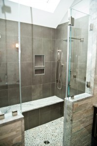 Glass Shower Door Options-Design Build Planners