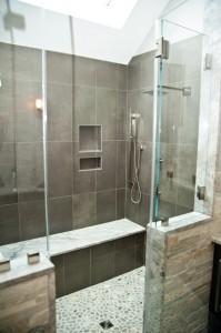 Glass Shower Door Options-Design Build Planners