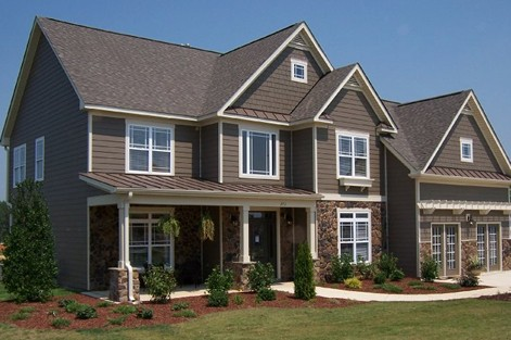 Cement fiber siding for your new jersey home design for Design siding on my house