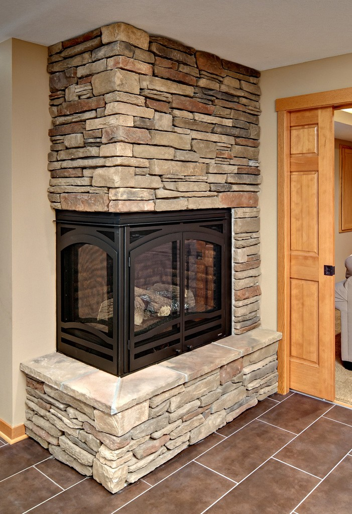 Gas Fireplace vs Natural Wood Burning Fireplace Design