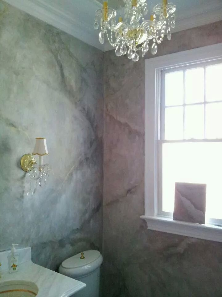 Venetian Plaster Faux Painting Finish