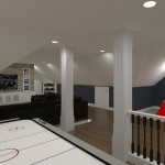 Computer Aided Design of an Attic in Totowa NJ (13)-Design Build Planners