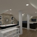 Computer Aided Design of an Attic in Totowa NJ (14)-Design Build Planners